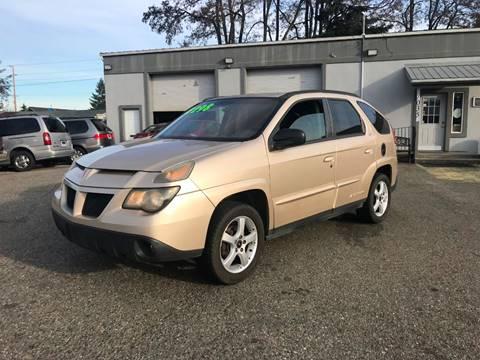 2003 Pontiac Aztek for sale in Spanaway, WA