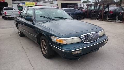 1997 Mercury Grand Marquis for sale at TEXAS MOTOR CARS in Houston TX