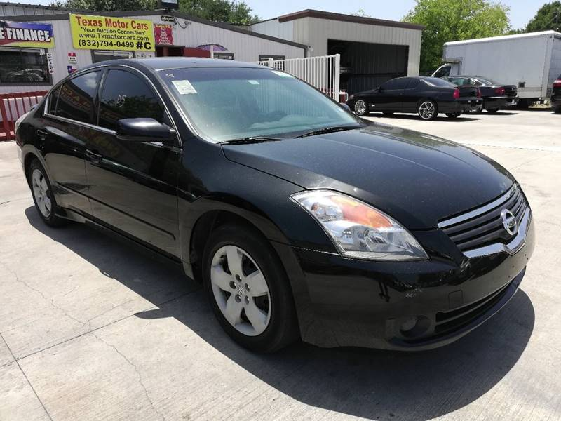 2007 Nissan Altima For Sale At TEXAS MOTOR CARS In Houston TX