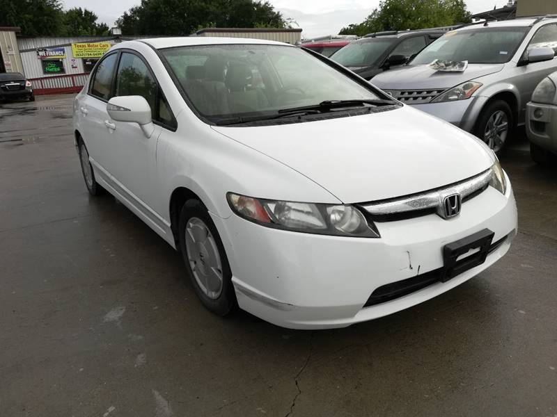 2008 Honda Civic For Sale At TEXAS MOTOR CARS In Houston TX