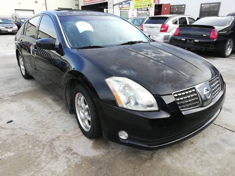 2006 Nissan Maxima For Sale At TEXAS MOTOR CARS In Houston TX