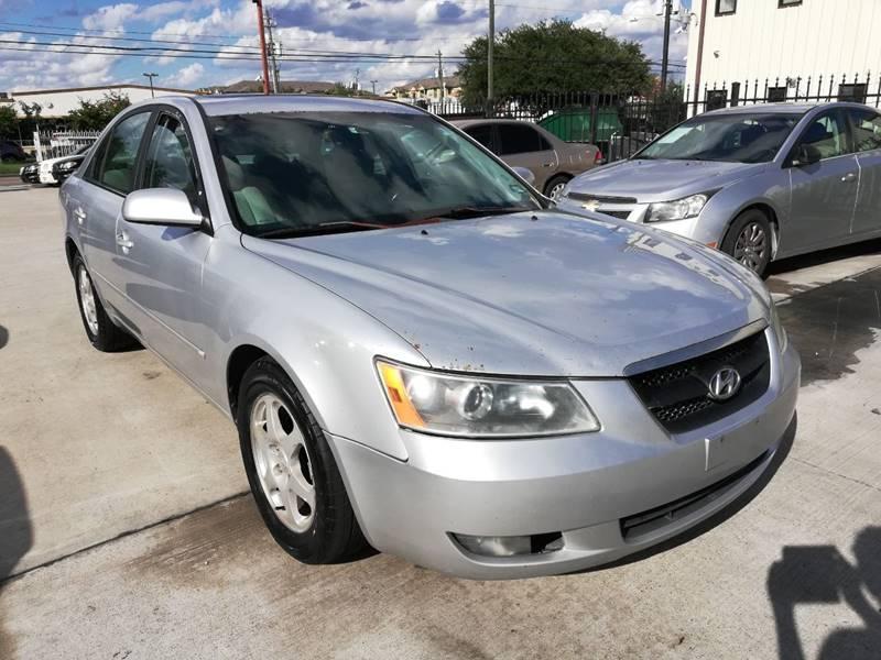 2006 Hyundai Sonata For Sale At TEXAS MOTOR CARS In Houston TX