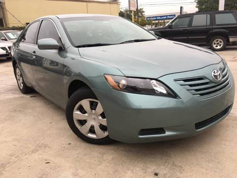 2007 Toyota Camry for sale at TEXAS MOTOR CARS in Houston TX