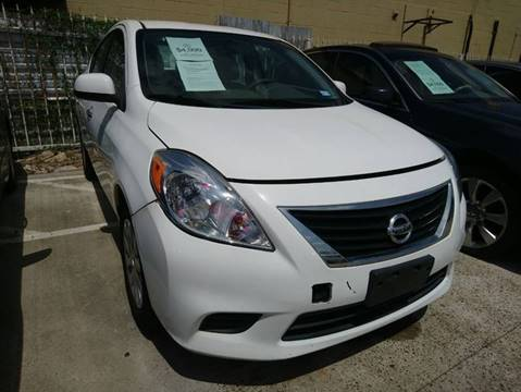 2012 Nissan Versa for sale at TEXAS MOTOR CARS in Houston TX