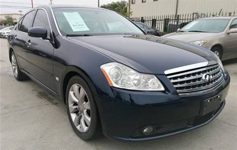 2006 Infiniti M35 for sale at TEXAS MOTOR CARS in Houston TX