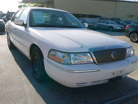 2003 Mercury Grand Marquis for sale at TEXAS MOTOR CARS in Houston TX