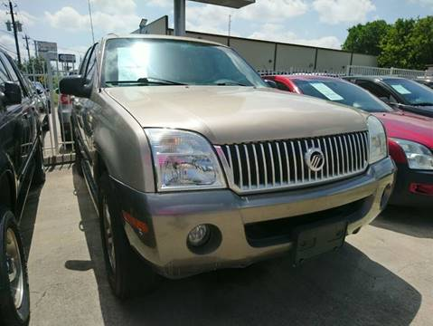2004 Mercury Mountaineer for sale at TEXAS MOTOR CARS in Houston TX