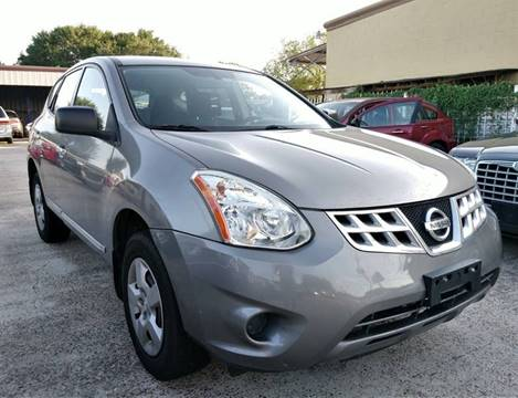 2013 Nissan Rogue for sale at TEXAS MOTOR CARS in Houston TX