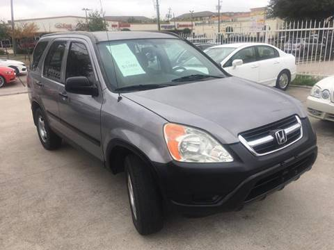 2002 Honda CR-V for sale at TEXAS MOTOR CARS in Houston TX