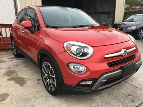 2017 FIAT 500X for sale at TEXAS MOTOR CARS in Houston TX
