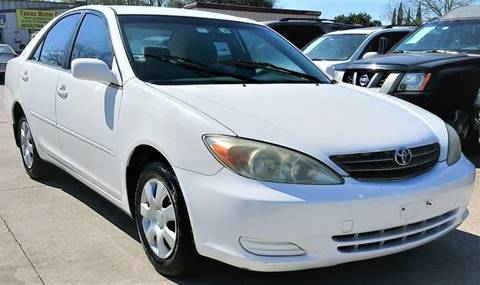 2004 Toyota Camry for sale at TEXAS MOTOR CARS in Houston TX