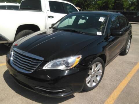 2014 Chrysler 200 for sale at TEXAS MOTOR CARS in Houston TX
