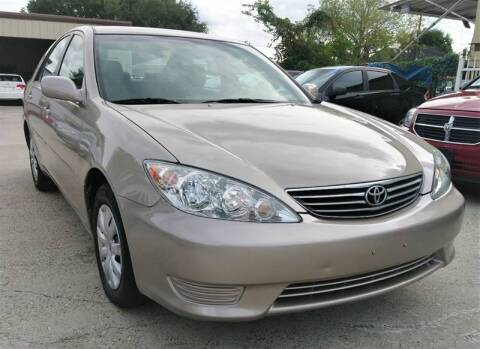2006 Toyota Camry for sale at TEXAS MOTOR CARS in Houston TX
