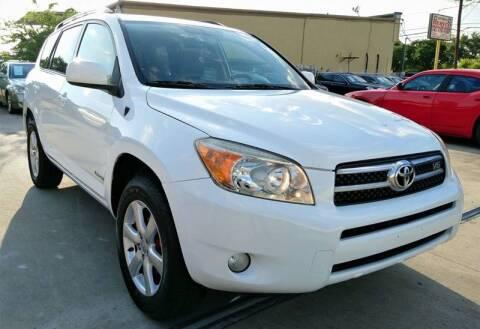 2008 Toyota RAV4 for sale at TEXAS MOTOR CARS in Houston TX