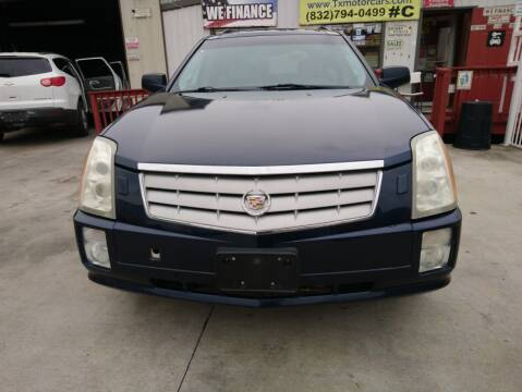 2007 Cadillac SRX for sale at TEXAS MOTOR CARS in Houston TX