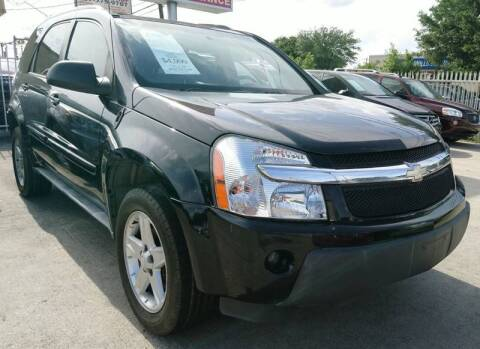 2005 Chevrolet Equinox for sale at TEXAS MOTOR CARS in Houston TX
