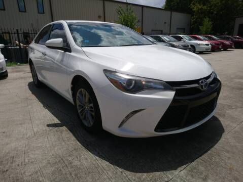 2016 Toyota Camry for sale at TEXAS MOTOR CARS in Houston TX