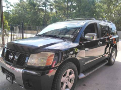 2004 Nissan Armada for sale at TEXAS MOTOR CARS in Houston TX
