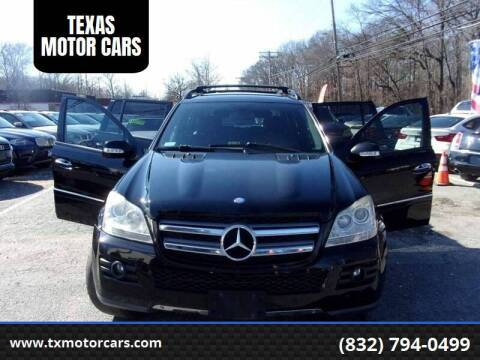 2008 Mercedes-Benz GL-Class for sale at TEXAS MOTOR CARS in Houston TX
