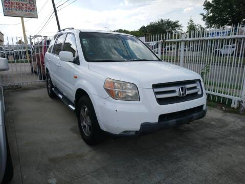 2008 Honda Pilot for sale at TEXAS MOTOR CARS in Houston TX