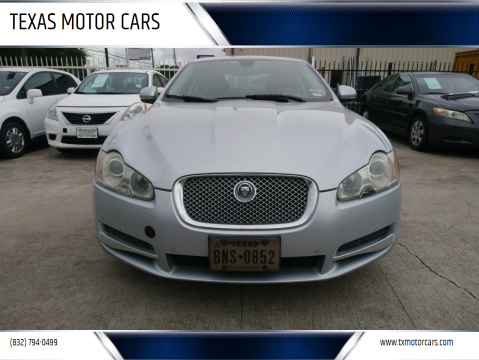 2010 Jaguar XF for sale at TEXAS MOTOR CARS in Houston TX