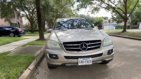 2006 Mercedes-Benz M-Class for sale at TEXAS MOTOR CARS in Houston TX