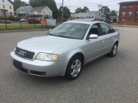 2003 Audi A6 for sale at Logans Auto in Norwich CT