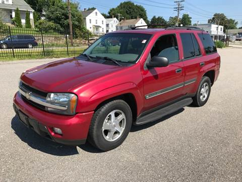 2002 Chevrolet TrailBlazer for sale at Logans Auto in Norwich CT