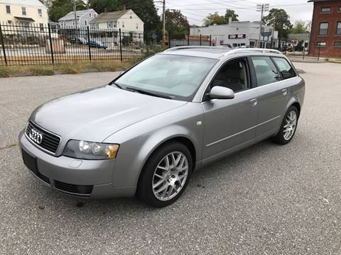2005 Audi A4 for sale at Logans Auto in Norwich CT
