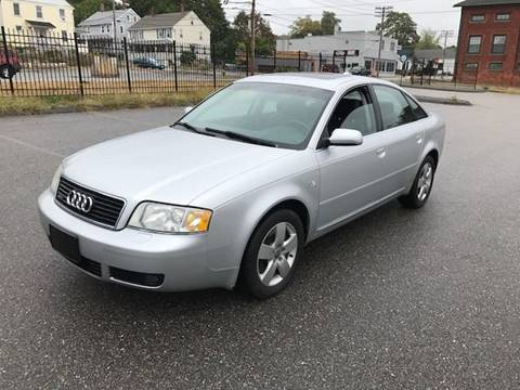 2004 Audi A6 for sale at Logans Auto in Norwich CT