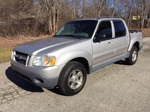 2003 Ford Explorer Sport Trac for sale at Logans Auto in Norwich CT