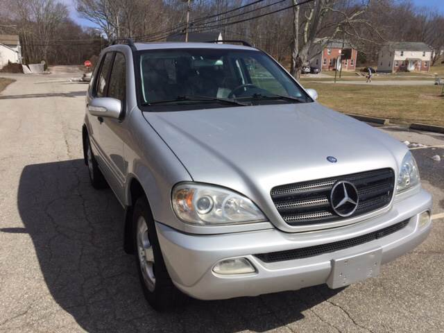 2003 Mercedes-Benz M-Class for sale at Logans Auto in Norwich CT