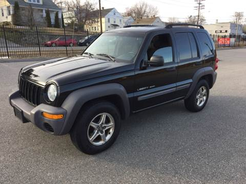 2003 Jeep Liberty for sale at Logans Auto in Norwich CT