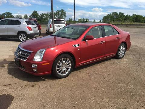 2008 Cadillac STS for sale in Chinook, MT