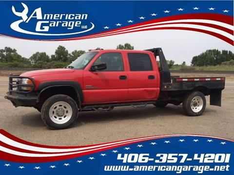 2007 GMC Sierra 3500 Classic for sale in Chinook, MT
