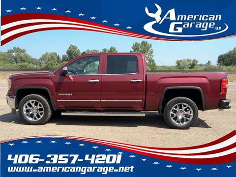 2015 GMC Sierra 1500 for sale in Chinook, MT