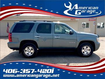 2009 Chevrolet Tahoe for sale in Chinook, MT