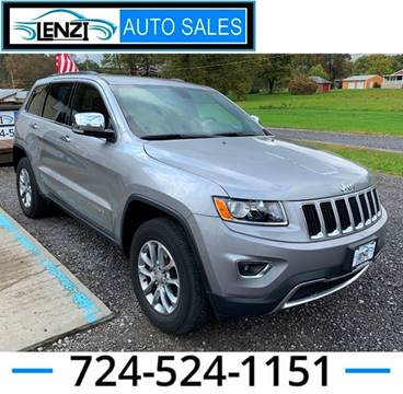 2016 Jeep Grand Cherokee for sale in Sarver, PA