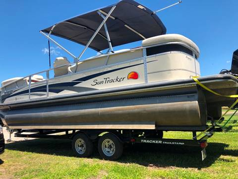 2008 Sun Tracher Party Barge 25 for sale in Houston, TX