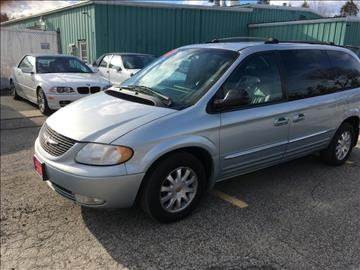 2002 Chrysler Town and Country for sale in Brentwood, NH