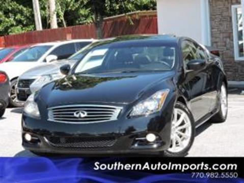 2012 Infiniti G37 Coupe for sale in Stone Mountain, GA