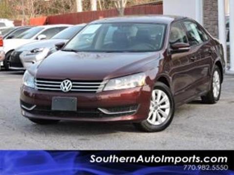 2014 Volkswagen Passat for sale in Stone Mountain, GA