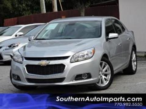 2016 Chevrolet Malibu Limited for sale in Stone Mountain, GA