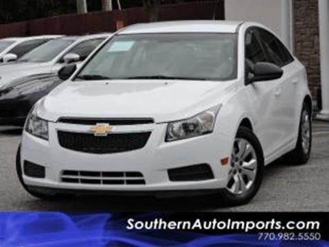 2014 Chevrolet Cruze for sale in Stone Mountain, GA