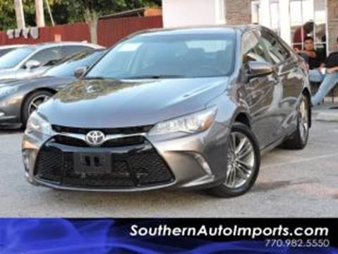 2015 Toyota Camry for sale in Stone Mountain, GA