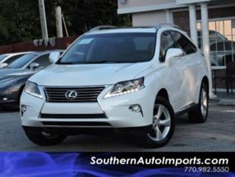 2015 Lexus RX 350 for sale in Stone Mountain, GA
