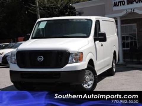 2013 Nissan NV Cargo for sale in Stone Mountain, GA