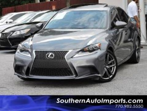 2014 Lexus IS 250 for sale in Stone Mountain, GA