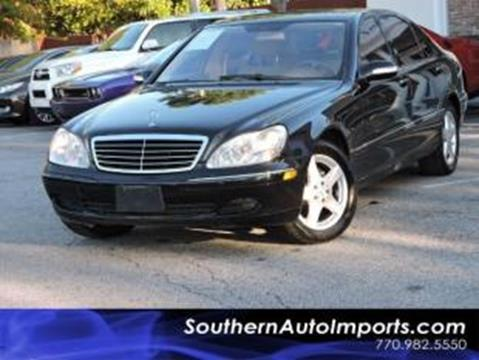 2005 Mercedes-Benz S-Class for sale in Stone Mountain, GA