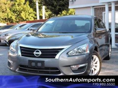 2015 Nissan Altima for sale in Stone Mountain, GA